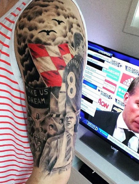 Automotive Tattoo Half Sleeve Ideas For Men