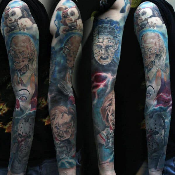 Tattoo Hellraiser Ideas For Guys Sleeve