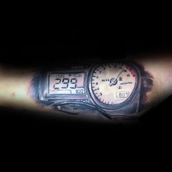 Tattoo Honda Designs For Men