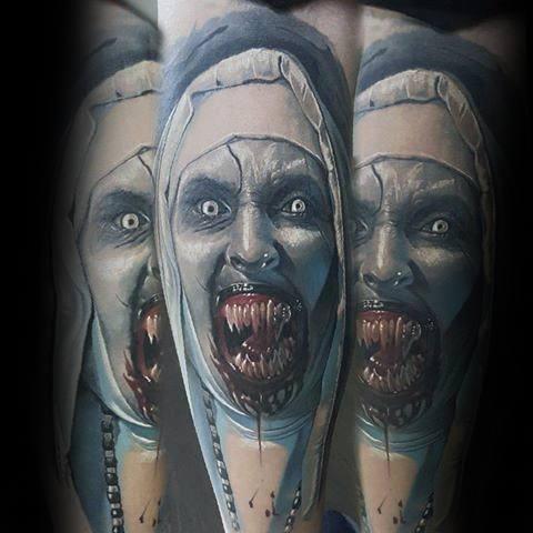 Tattoo Horror Movie Designs For Men