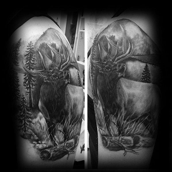Tattoo Ideas Elk