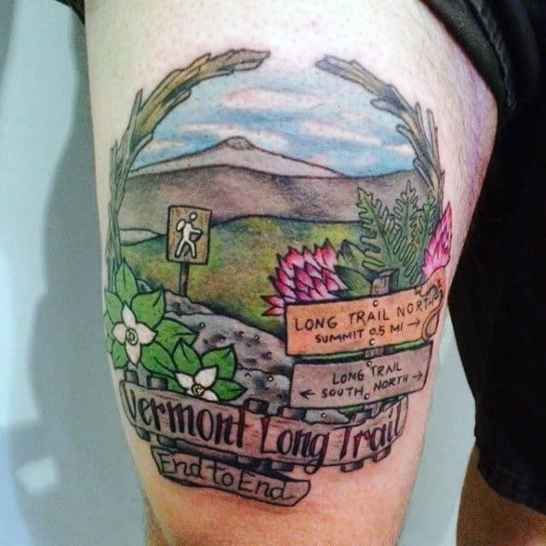 Tattoo Ideas Hiking