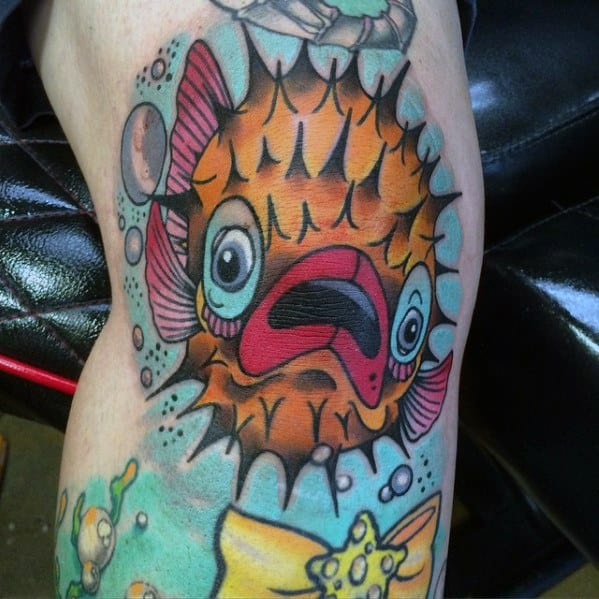 Tattoo Ideas Puffer Fish