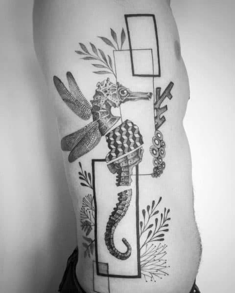 60 Seahorse Tattoos For Men – Nautical Design Ideas