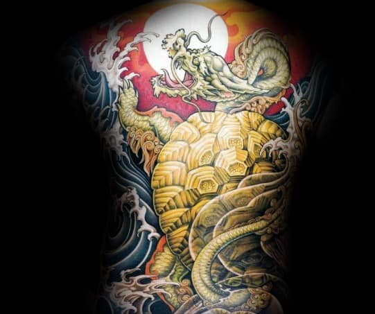 Tattoo Japanese Turtle Ideas For Guys