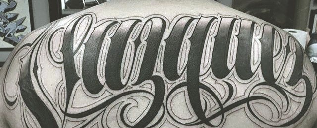 Tattoo Lettering Designs For Men