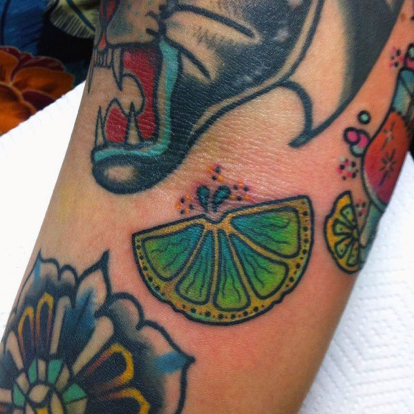 Tattoo Lime Ideas For Guys