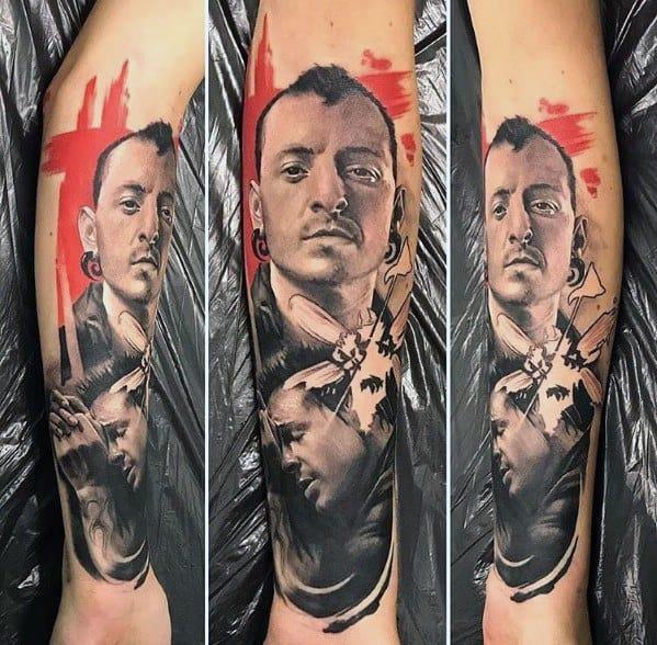 Tattoo Linkin Park Designs For Men