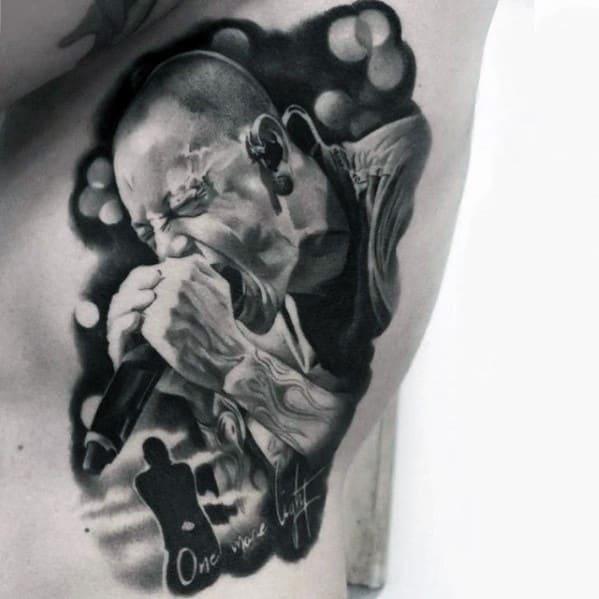 Tattoo Mens Linkin Park Design