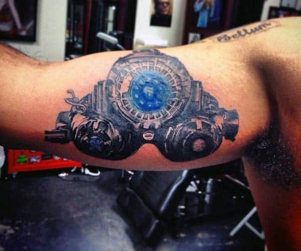 Tattoo On Male Bicep
