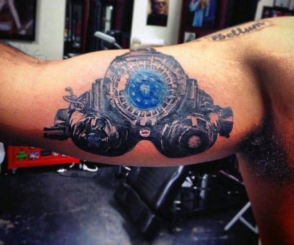Tattoo On Male Bicep