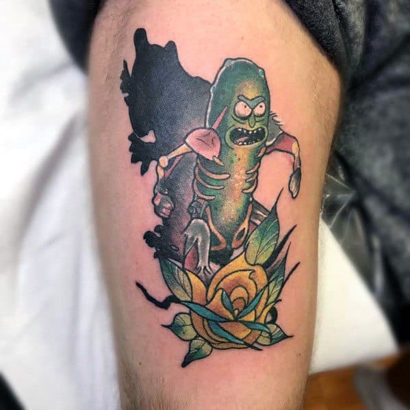Tattoo Pickle Rick Ideas For Guys