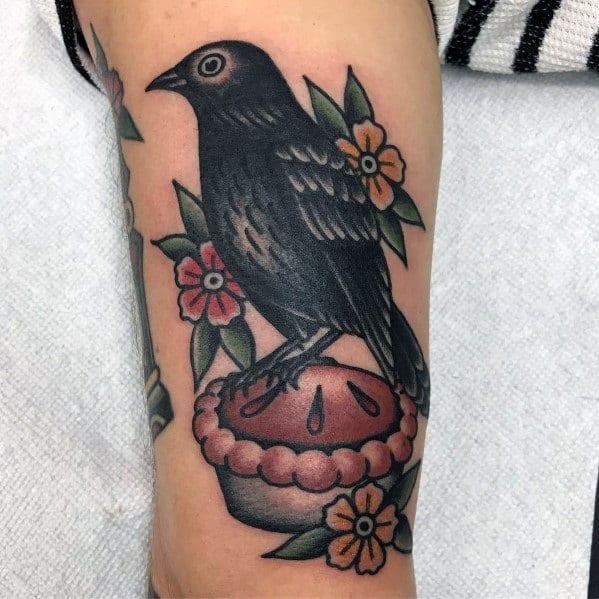 Tattoo Pie Designs For Men