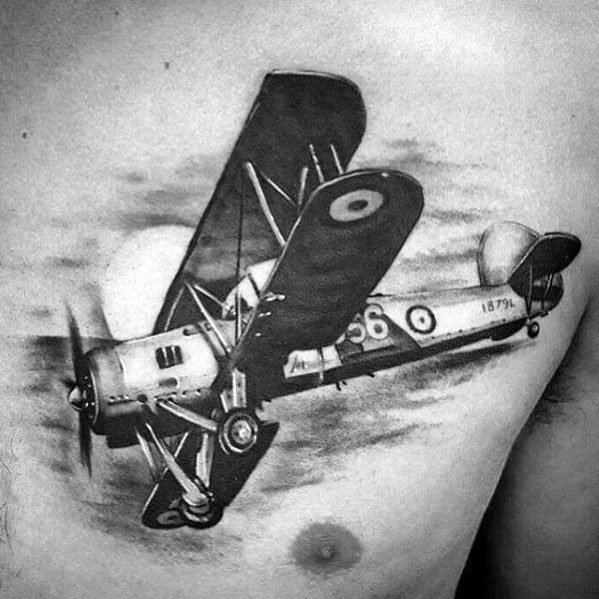Tattoo Propeller Ideas For Guys