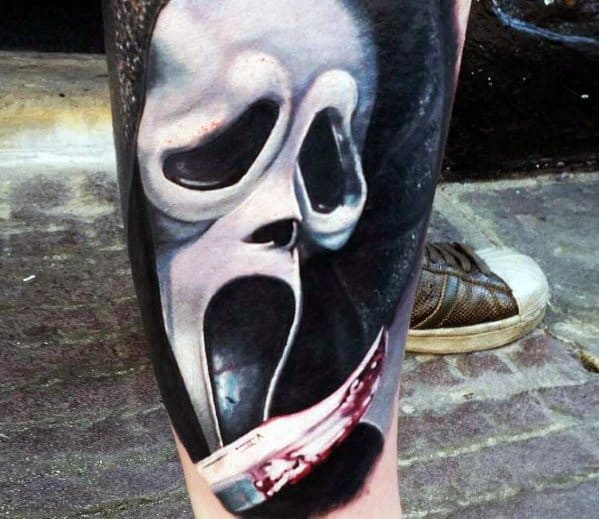 Tattoo Scary Movie Ideas For Guys