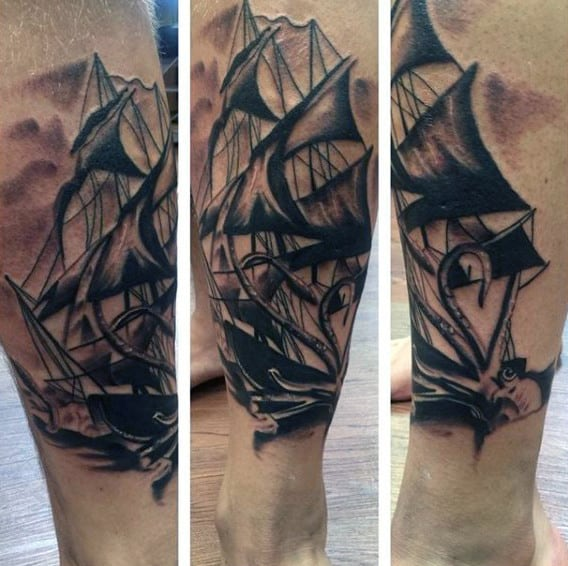 Tattoo Ships On Men