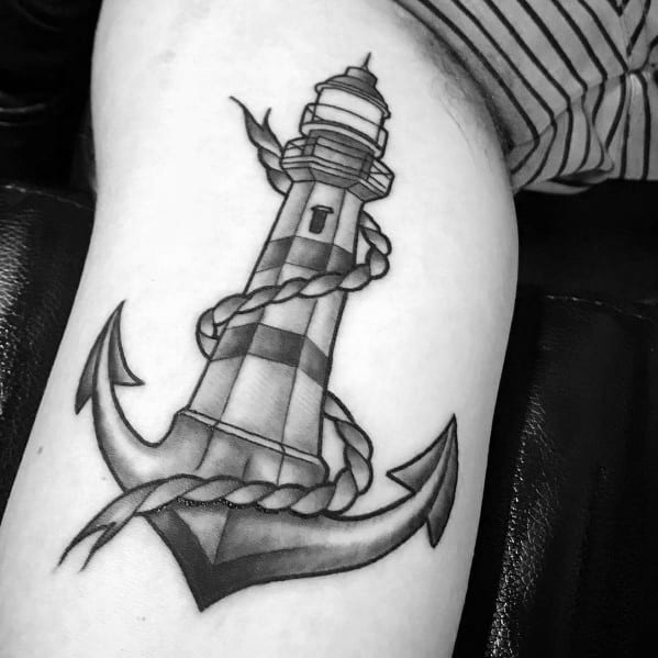 Tattoo Simple Anchor Designs For Men On Arm