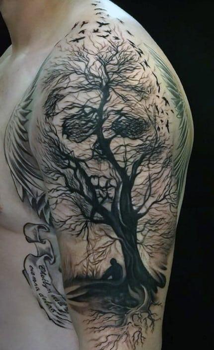 8e851d5fb Tattoos Skulls. Tattoo Skulls On Rib Cage For Men. Tattoo Skulls