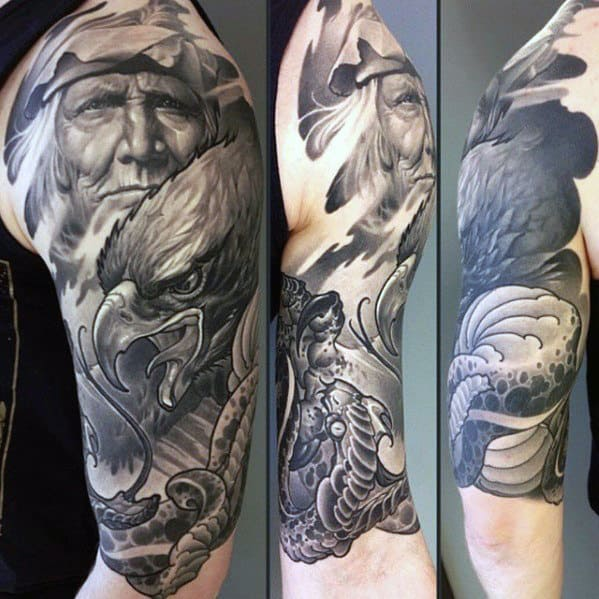 Top 100 Best Sleeve Tattoos For Men