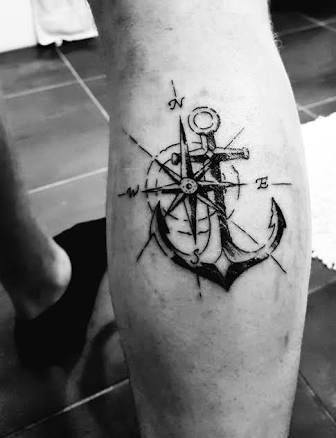 Tattoo Small Compass Designs For Men