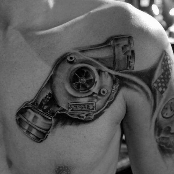 Tattoo Turbo Designs For Men