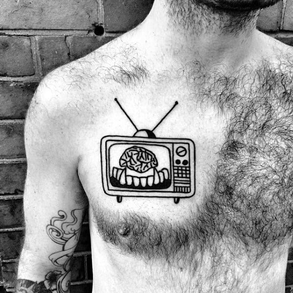 Tattoo Tv Designs For Men