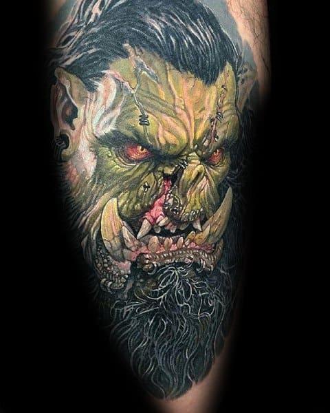 Tattoo World Of Warcraft Designs For Men