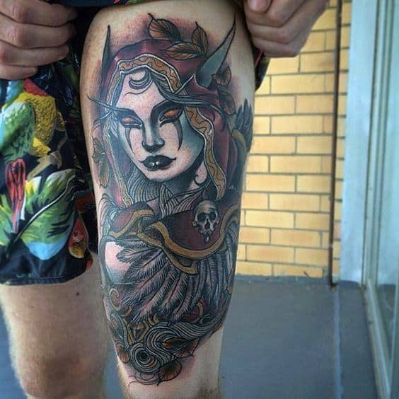 Tattoo World Of Warcraft Ideas For Guys