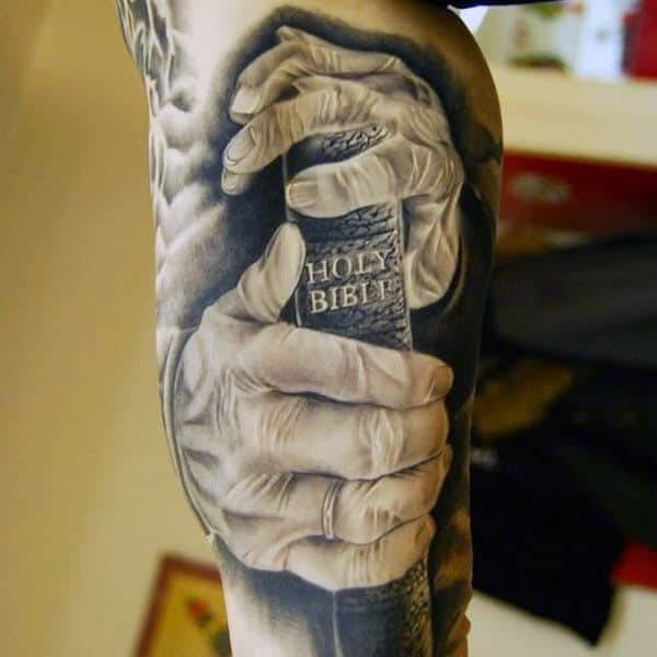 Tattoos And Christianity Designs For Men