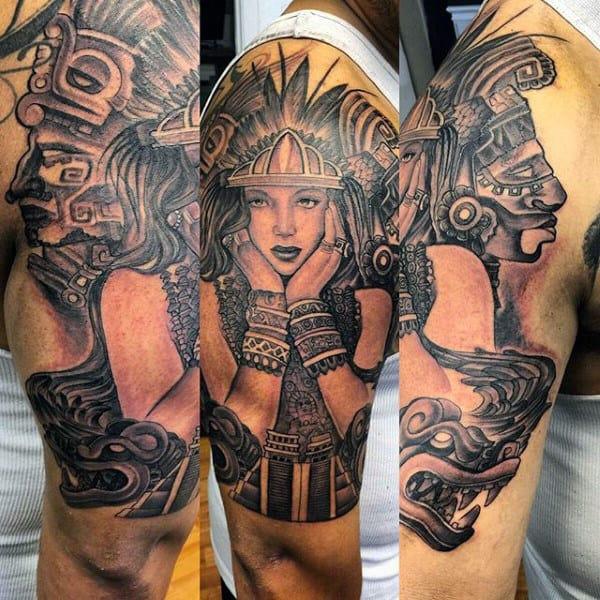 Tattoos Aztec Culture