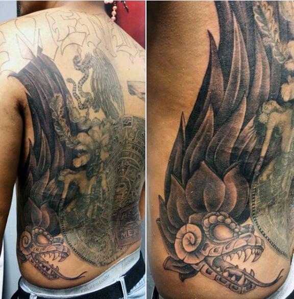 Tattoos Aztec For Men On Back