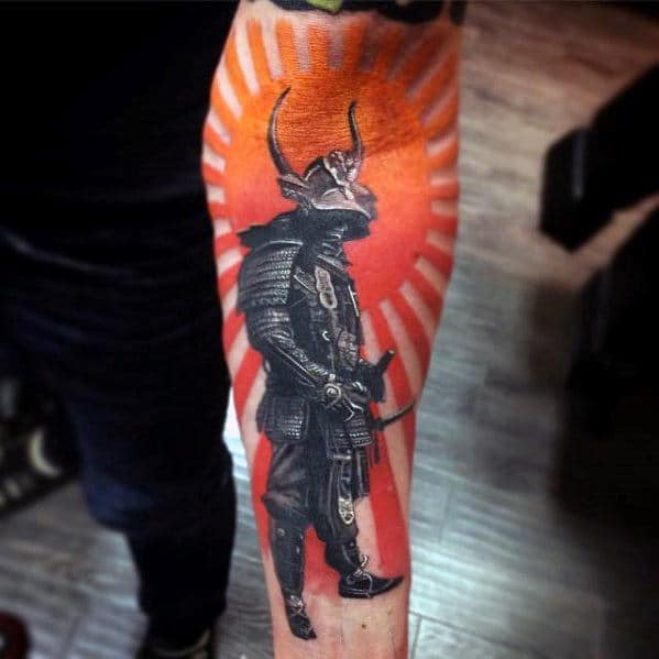Warrior Tattoos For Men On Arm Sleeves