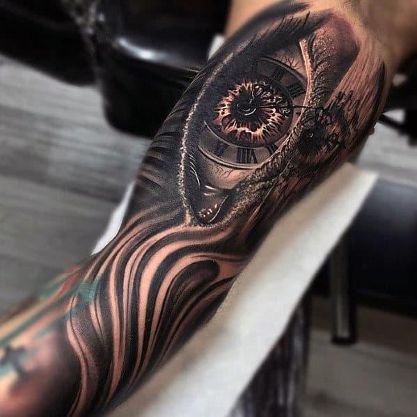 Eye Tattoos For Men On Arm