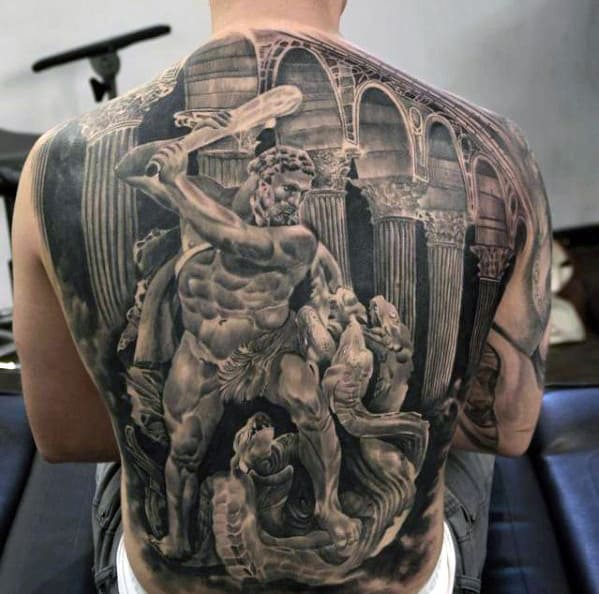 Tattoo Ideas On Back: Top 50 Best Back Tattoos For Men