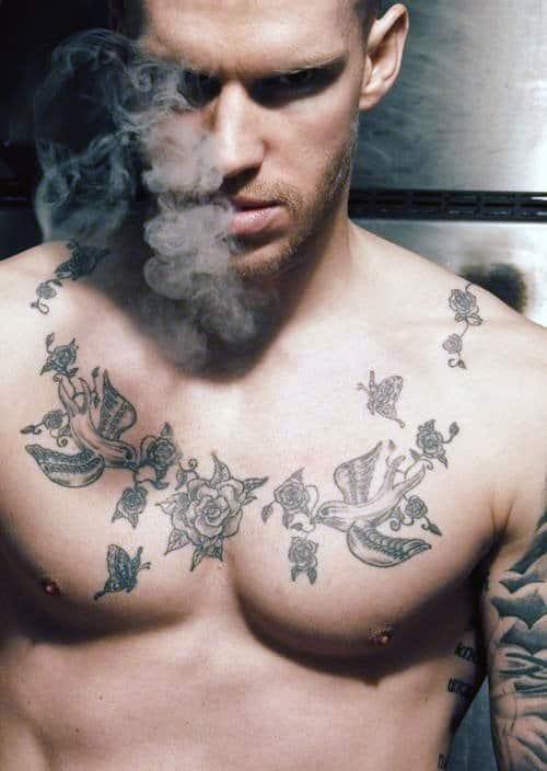 Tattoos For Men On Chest