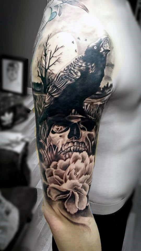 Tattoos For Men On Upper Arm