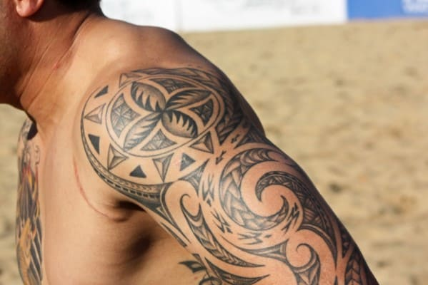Tattoos For Men Polynesian Design