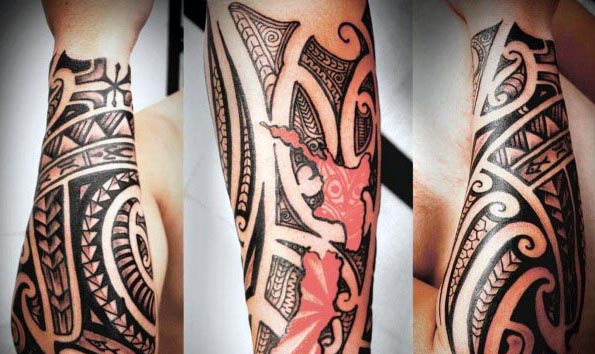 New Zealand Themed Tattoos: Top 60 Best Tribal Tattoos For Men