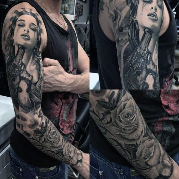 Tattoos Guns For Men