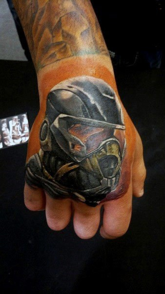 Men's Tattoos On The Hand