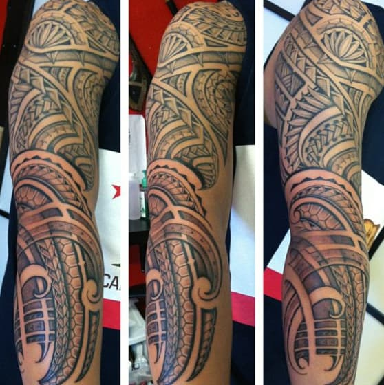 Tattoos Tribal Mens Sleeves