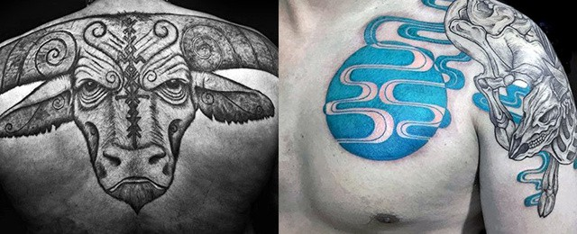 Taurus Tattoos For Men