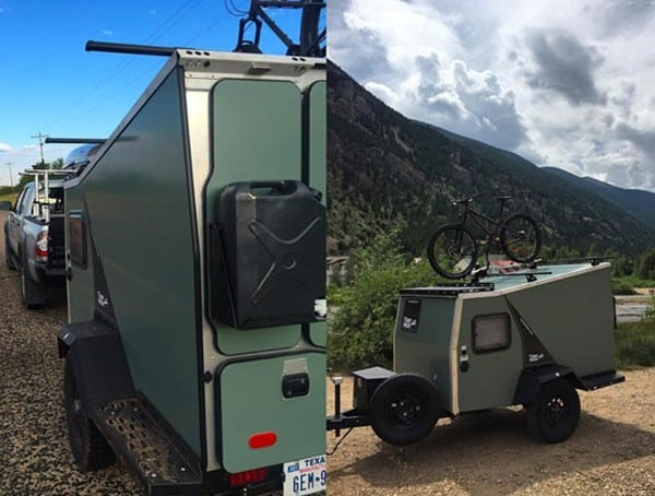 Taxa Outdoors Tigermoth Camper Off Road Camper Trailer