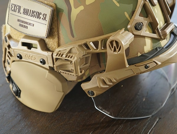 Team Wendy Exfil Ballistic Sl Helmet Multicam Side With Accessories