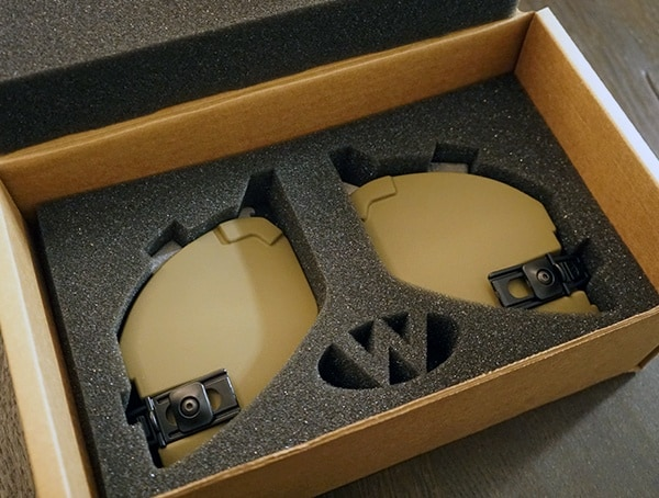 Team Wendy Exfil Ballistic Sl Helmet Protective Ear Covers In Coyote Brown