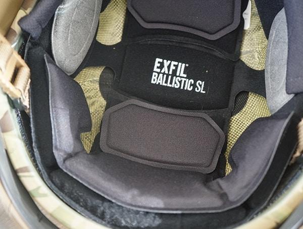 Team Wendy Exfil Ballistic Sl Helmet Thicker Center Pad Installed