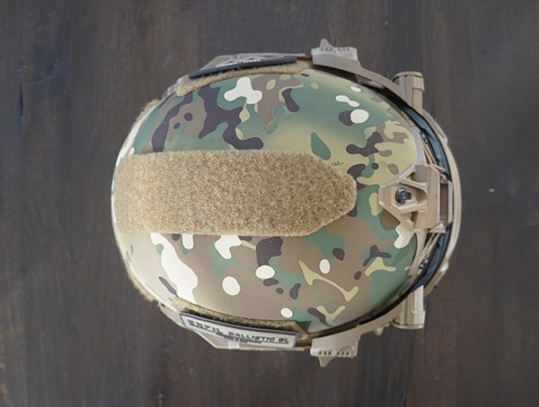Team Wendy Exfil Ballistic Sl Helmet With Acessories Installed