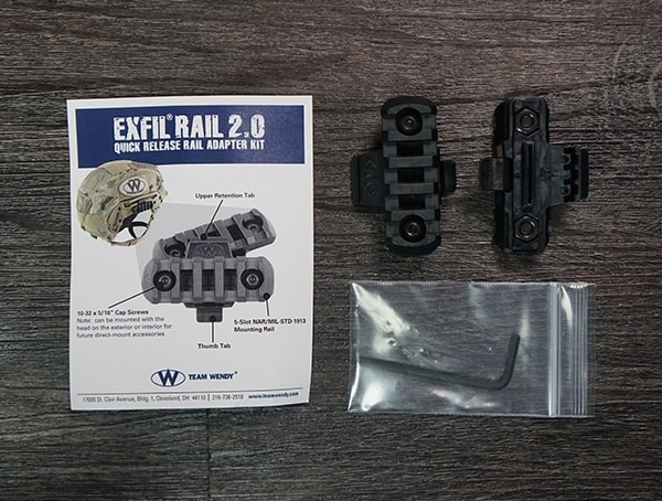 Team Wendy Exfil Rail 2 0 Quick Release Rail Adpater Kit Review