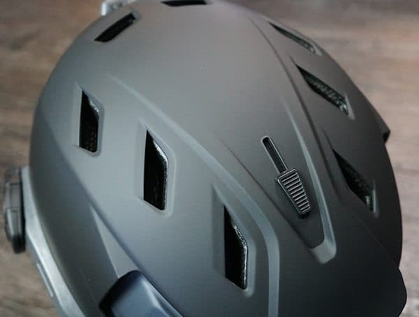 Team Wendy M 216 Helmet Adjustable Crown Vents Open