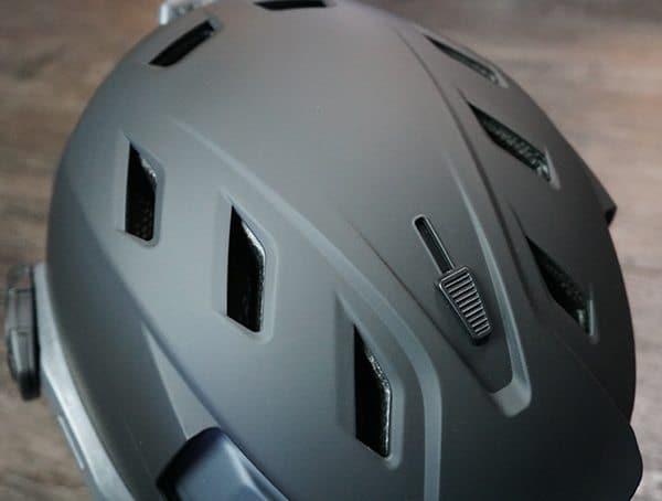 Team Wendy M 216 Helmet Adjustable Crown Vents Open